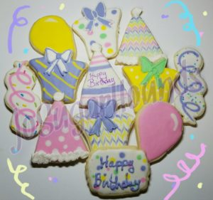 Pastel Birthday Set