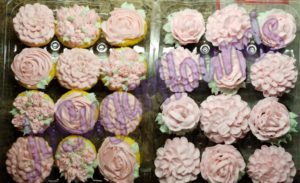 Pale Pink Cupcakes