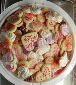 Soft-bite Shortbread & Meringue Hearts