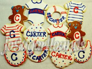 Carter's Nautical Shower