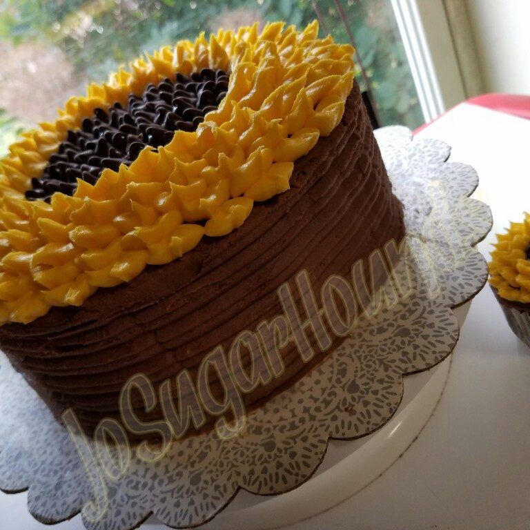 Sunflower Cake & Cupcake